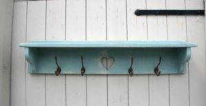 Pine Heart Coat Rack