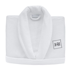 Block Monogrammed Waffle Personalised Dressing Gown - bath robes