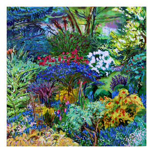 Magic Garden Print - contemporary art