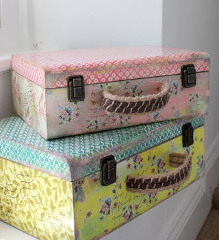 Set Of Two Storage Trunks