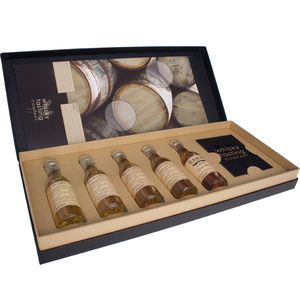 Premium Regions Of Scotland Whisky Tasting Set - wines, beers & spirits