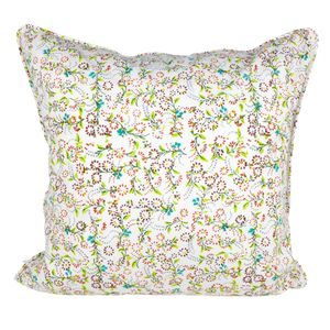 Bright Mini Floral Cushion - living room