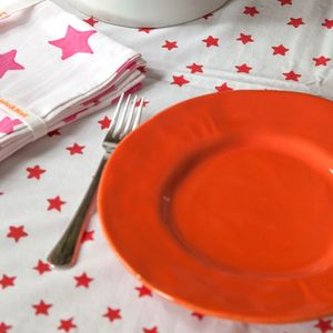 Red Star Tablecloth - bed, bath & table linen