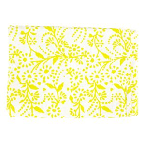 Yellow Floral Tablecloth - tablecloths