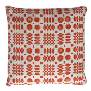 Welsh Blanket Print Cushion - cushions