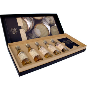 Personalised Five Bottle Whisky Gift Set - food & drink gifts