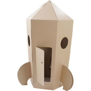 Paperpod Rocket Brown - outdoor toys & games