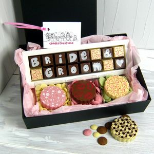 Personalised Wedding Gift Box Of Chocolates - best wedding gifts