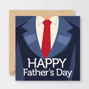 Suits You Sir Father's Day Card