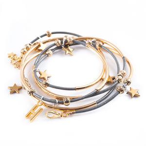 Star Noodle Wrap Bracelet - bracelets & bangles