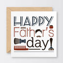 Groomed To Perfection Father's Day Card