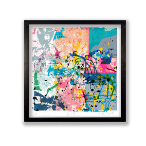 Abstract Paint Fine Art Print - limited edition art