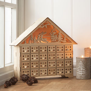 Light Up Advent Calendar House - view all sale items