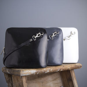 Monochrome Leather Handbag - must have bags