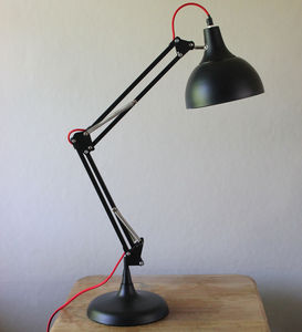 Matt Black Table Lamp - office & study