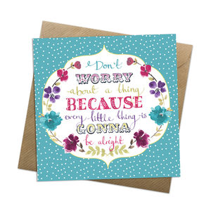 Every Little Thing Card - cards sent direct