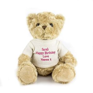 Personalised Teddy Bear - soft toys & dolls