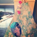 Sky Tie Dye Cat And Dog Tipi