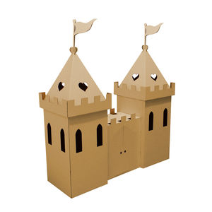 Kid Eco Princess Castle Brown