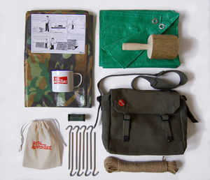 Original Real Adventure Den Kit - more