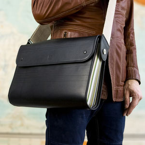 Luxury Handmade Leather World Traveller Satchel