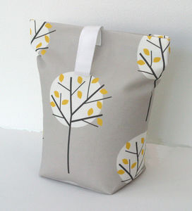 Tree Print Door Stop - living room