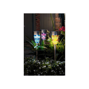 Mosaic Glass Garden Border Solar Light - shop by price