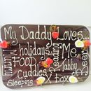 Personalised Chocolate Plaque