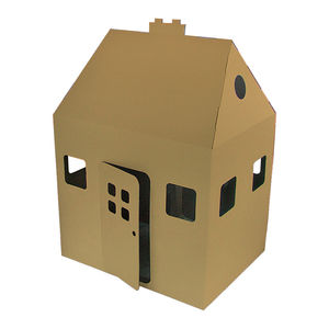 Kid Eco Playhouse Brown
