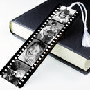 Personalised Photo Metal Book Mark Photograph Film Reel