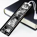 Personalised Photo Metal Book Mark Photograph Film Reel