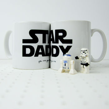 Star Wars Themed 'Star Daddy' Mug