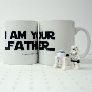 Star Wars Themed 'I am your Father' Mug