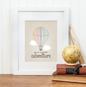 'Greatest Adventure' Print