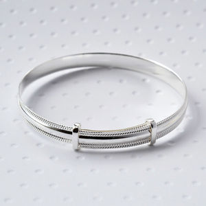 Sterling Silver Baby Bracelet - children's accessories