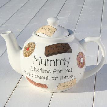 Personalised Ceramic Teapot