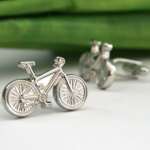 Bicycle Cufflinks - men's jewellery
