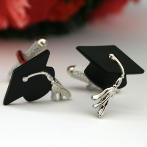 Graduation Cufflinks - men's accessories
