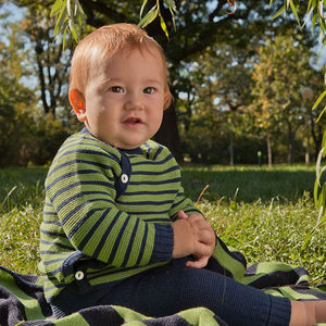 100% Merino Wool Baby Jumper - clothing