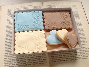 Box Of 'Love You Dad' Gift Cookies