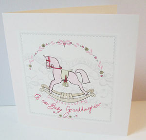 'Granddaughter' Card