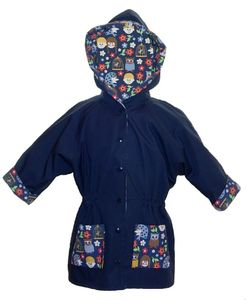 'Max/Moa' Kids Unisex Reversible Coat