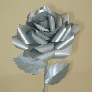 Silver Wedding Anniversary Rose