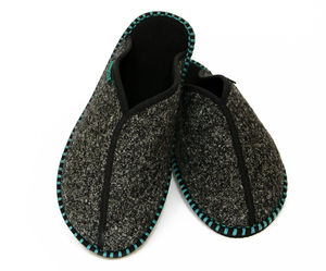 Nordic Dark Slippers - shoes & boots
