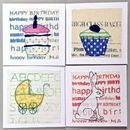Pack Of Four Handmade Mixed Occasion Cards