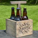 Engraved Tnt Detonator Style Beer Carrier