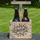 Engraved Tnt Detonator Style Beer Carrier