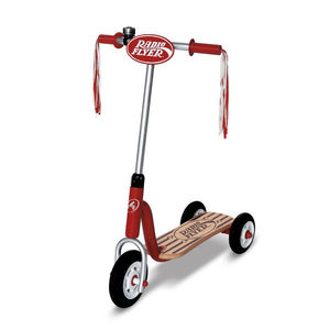 Little Red Scooter - outdoor toys & games
