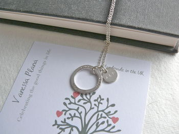 Three In One Family Necklace