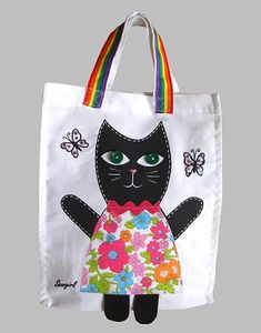Decorate A Kitty Bag Sewing Kit - stationery & creative activities